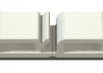 2327104 - OBO BETTERMANN Кабельный зажим плоский самоклей. 200x15x7,1мм (507).