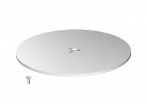 6290196 - OBO BETTERMANN Напольная пластина для электромонтажной колонны ISSDM45F (сталь,белый) (SFISSFRW).