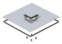 7400431 - OBO BETTERMANN Крышка монтажного основания UZD350-3 для Telitank (сталь) (DUF 350-3 DAT).
