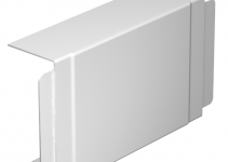 6192718 - OBO BETTERMANN Крышка T-образной секции кабельного канала WDK 80x170 мм (ПВХ,белый) (WDK HK80170RW).