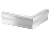 6115851 - OBO BETTERMANN Крышка внешнего угла дизайнерского канала типа Swing (алюминий) (OT A Swing EL).