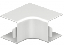 6160042 - OBO BETTERMANN Крышка внутреннего угла кабельного канала WDK 25x25 мм (ПВХ,кремовый) (WDK HI25025CW).