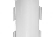 6160395 - OBO BETTERMANN Крышка внутреннего угла кабельного канала WDK 60x230 мм (ПВХ,кремовый) (WDK HI60230CW).