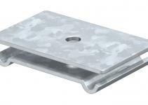 6015224 - OBO BETTERMANN Траверса для резьбового стержня 60x40 (GMA M6 FT).