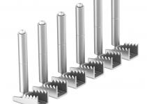 7404592 - OBO BETTERMANN Крепежный угол для лючков GES в полу высотой до 80 мм (сталь,1 шт.) (BW6 80).