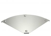 7138590 - OBO BETTERMANN Крышка угловой секции 90° 100мм (DFBM 90 100 V4A).