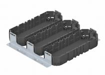 7407654 - OBO BETTERMANN Комплект для монтажного основания UZD350-3 3xGB3 (сталь) (MS3 GB3).