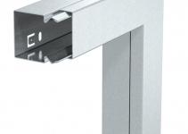 6248993 - OBO BETTERMANN Плоский угол с крышкой кабельного канала LKM 40x40 мм (сталь,белый) (LKM F40040RW).