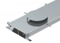 7424804 - OBO BETTERMANN Секция кабельного канала OKA-W для GESR9 2400x600x100 мм (сталь) (OKA-W60010050DR9).