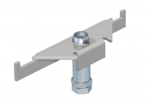7410186 - OBO BETTERMANN Усиленная опора DSSL2 220/320 мм (1 шт.,сталь) (DSSL2 220 320).