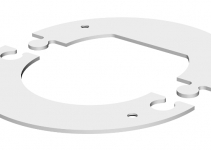 6290264 - OBO BETTERMANN Рамка электромонтажной колонны ISS (сталь,белый) (WAGRM45).