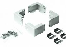DP-PR-100 - Уголки для всех типов цоколей для шкаф Contegов; включая монтажный комплект, высота 100мм