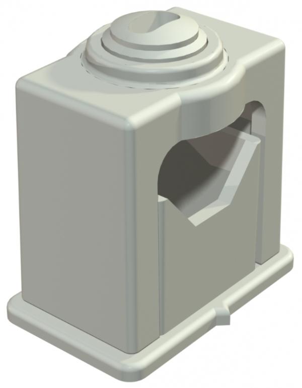 2105055 - OBO BETTERMANN Крепежная скоба (клипса) 24-34мм (3042 LGR).