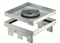 7409378 - OBO BETTERMANN Кассетная рамка RKFN2 UZD3 ном.размер 9 243x243 мм (сталь) (RKFN2UZD3 9VS20).