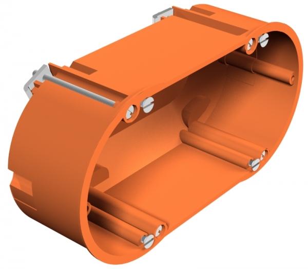 2003422 - OBO BETTERMANN Монтажная коробка для полых стен двойная 138x68x50 (HG 60 2).