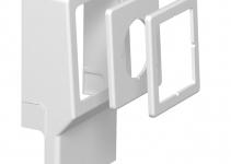6199442 - OBO BETTERMANN Монтажная рамка для кабельного канала SKL (ПВХ,белый) (SKL-Z DRW).