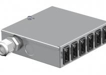 6108000 - OBO BETTERMANN Распределитель энергии UVS (сталь) (UVS-6S2).