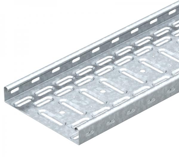 6047408 - OBO BETTERMANN Кабельный листовой лоток перфорированный 35x50x3000 (RKS 305 FS).