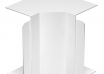 6160484 - OBO BETTERMANN Крышка внутреннего угла кабельного канала WDK 80x170 мм (ПВХ,кремовый) (WDK HI80170CW).