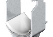 1183338 - OBO BETTERMANN U-образная скоба 70-76мм (2056 76 ALU).
