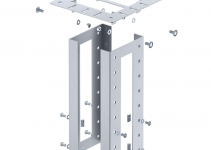 6290436 - OBO BETTERMANN Потолочное крепление электромонтажной колонны (сталь) (ISS160160DB WA).