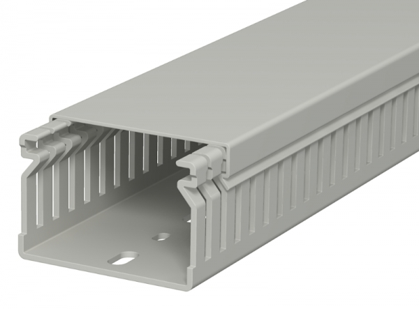 6178014 - OBO BETTERMANN Распределительный кабельный канал LK4 40x60x2000 мм (ПВХ,серый) (LK4 40060).