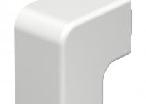 6192815 - OBO BETTERMANN Крышка плоского угла кабельного канала WDK 30x30 мм (ПВХ,белый) (WDK HF30030RW).