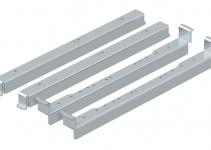7410556 - OBO BETTERMANN Нивелирующий угол для монтажа круглых кассетных рамок в UZD350-3 (сталь) (NW 350-3 RK).