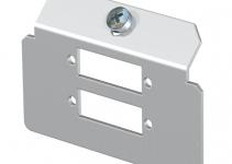 7407808 - OBO BETTERMANN Суппорт для установки модулей в монтажную рамку MTU тип L (сталь) (MTM 2L).