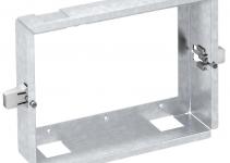 6109952 - OBO BETTERMANN Корпус для установки в стену Modalnet 3x2 (сталь) (WG-UK3).