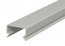 6178504 - OBO BETTERMANN Крышка кабельного канала LKV 25 мм (ПВХ,серый) (LKV D 25).