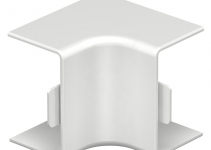 6160050 - OBO BETTERMANN Крышка внутреннего угла кабельного канала WDK 25x40 мм (ПВХ,кремовый) (WDK HI25040CW).