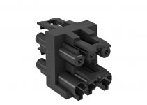 6108080 - OBO BETTERMANN Распределительный блок для UVS-распределителей (черный) (VB-3 GST18i3p).