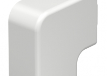 6161243 - OBO BETTERMANN Крышка плоского угла кабельного канала WDK 25x40 мм (ПВХ,кремовый) (WDK HF25040CW).
