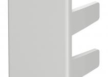 6158749 - OBO BETTERMANN Торцевая заглушка кабельного канала WDK 25x40 мм (ПВХ,серый) (WDK HE25040GR).