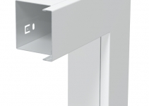 6249485 - OBO BETTERMANN Плоский угол с крышкой кабельного канала LKM 60x60 мм (сталь,белый) (LKM F60060RW).