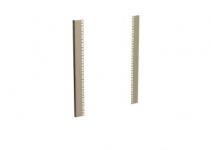 DP-LV-N-15 - L- типа направляющие для настенного шкафа 15U, 1 пара