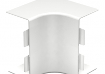 6160344 - OBO BETTERMANN Крышка внутреннего угла кабельного канала WDK 60x130 мм (ПВХ,кремовый) (WDK HI60130CW).