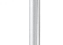 6289040 - OBO BETTERMANN Электромонтажная колонна 2,3-3,8 м 1-сторонняя 100x110x2300 мм (алюминий,белый) (ISS110100FRW).