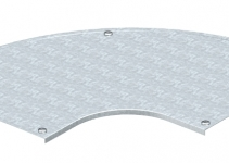 7130619 - OBO BETTERMANN Крышка угловой секции 90° 550мм (DFB 90 550 DD).