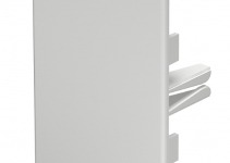 6022502 - OBO BETTERMANN Торцевая заглушка кабельного канала WDK 60x90 мм (ПВХ,серый) (WDK HE60090GR).