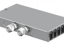 6108010 - OBO BETTERMANN Распределитель энергии UVS (сталь) (UVS-6S6W2).