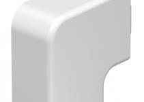 6192793 - OBO BETTERMANN Крышка плоского угла кабельного канала WDK 25x40 мм (ПВХ,белый) (WDK HF25040RW).