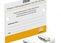7215750 - OBO BETTERMANN Маркировочная табличка (KS-ZSE DE).
