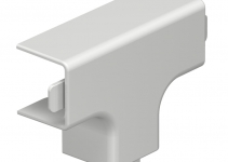 6161901 - OBO BETTERMANN Крышка T-образной секции кабельного канала WDK 20x20 мм (ПВХ,кремовый) (WDK HT20020CW).