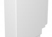 6193025 - OBO BETTERMANN Крышка плоского угла кабельного канала WDK 80x210 мм (ПВХ,белый) (WDK HF80210RW).