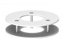 6290269 - OBO BETTERMANN Потолочная рамка для электромонтажной колонны (сталь,белый) (DAB-F RW).
