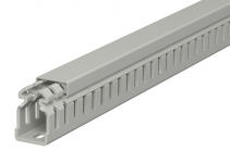 6178305 - OBO BETTERMANN Распределительный кабельный канал LKV 37,5x25x2000 мм (ПВХ,серый) (LKV 37025).