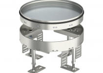 7409088 - OBO BETTERMANN Кассетная рамка RKR2 ном.размер 4 ø 215 мм (сталь) (RKR2 4V 20).
