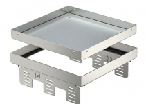 7409066 - OBO BETTERMANN Кассетная рамка RKN2 UZD3 ном.размер 9 243x243 мм (сталь) (RKN2 UZD3 9VS20).